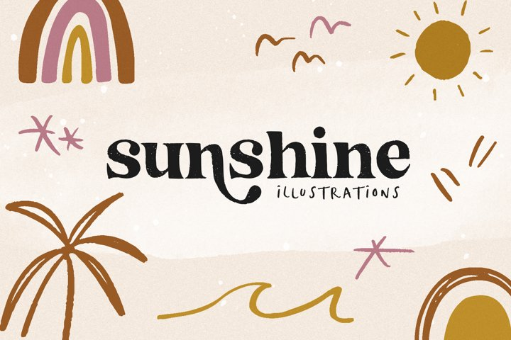 Sunshine - Modern Illustrations