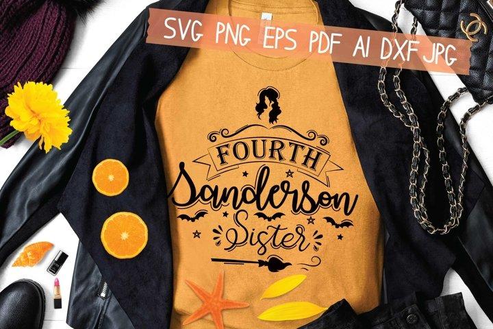 Fourth Sanderson Sister Svg