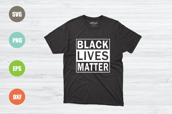 Black Lives Matter SVG File