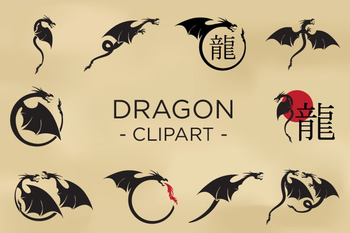 Dragon - Clipart