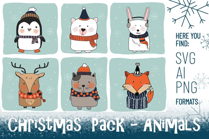 Christmas Pack - Animals