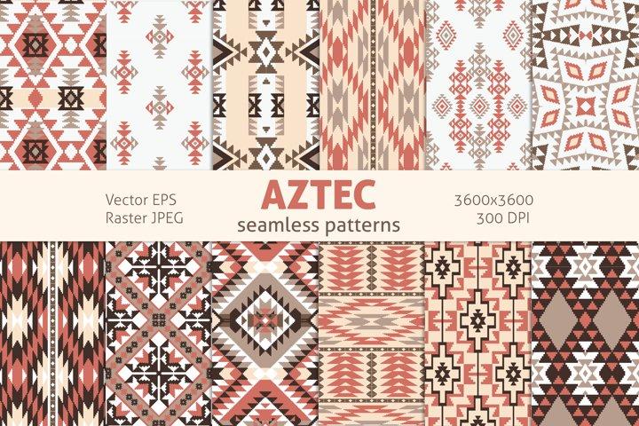 Aztek Digital Paper Pack, Navajo seamless patterns