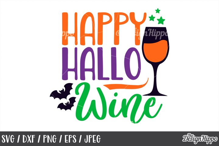 Happy hallowine, SVG, Hallowine, Halloween, Sayings SVG, PNG