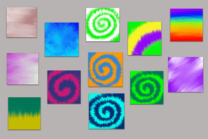 12 images - Tie dye texture background