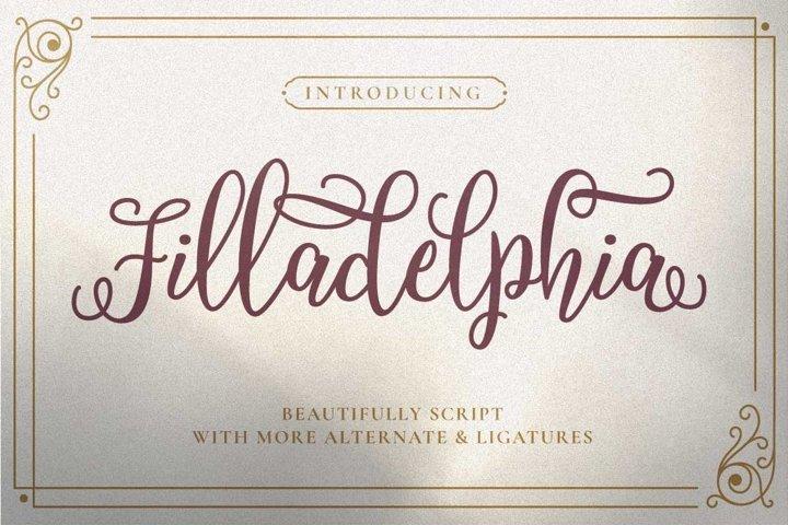 Filladelphia - Beauty Elegant Script