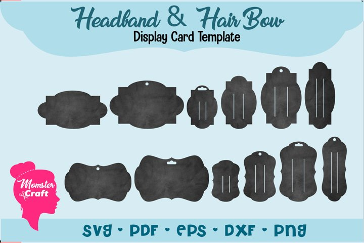 CCDD Bundle of 2 style and 6 sizes,Total of 36 Display Card