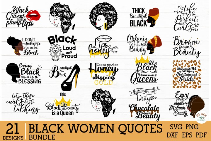 African American Black woman Quotes SVG Bundle,Afro puff svg