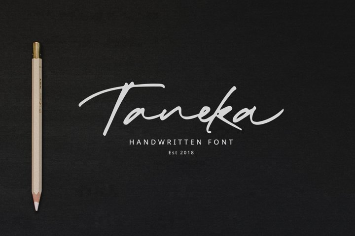 Taneka Handwritten