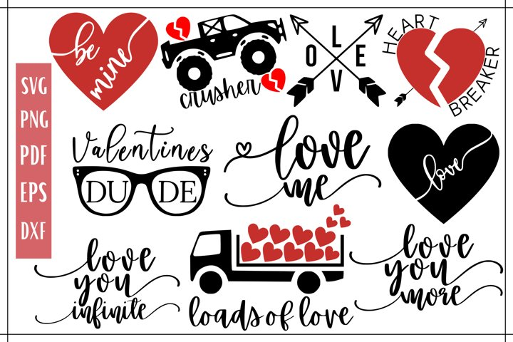 Valentines Day SVG Bundle - 10
