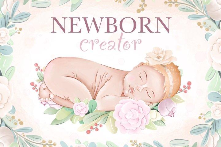 Newborn Creator & Baby Shower
