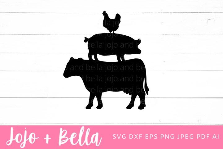 Farm Animals Svg   Farmhouse SVG