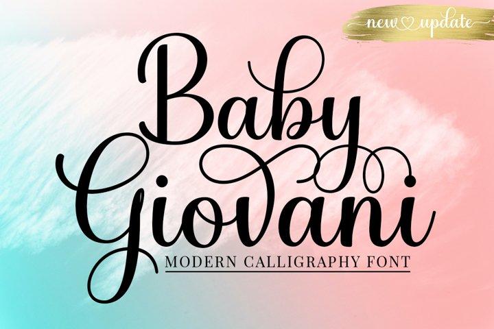 Baby Giovani Script - New Update