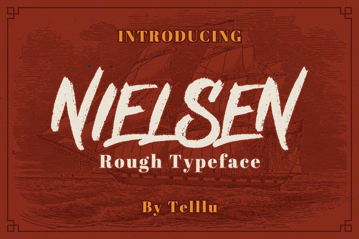 Nielsen Rough Typeface