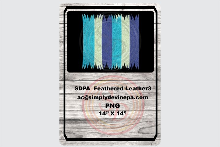 Sublimation Designs - background Feathered Leather3