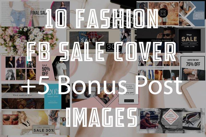 10 Fashion Fb sale Cover