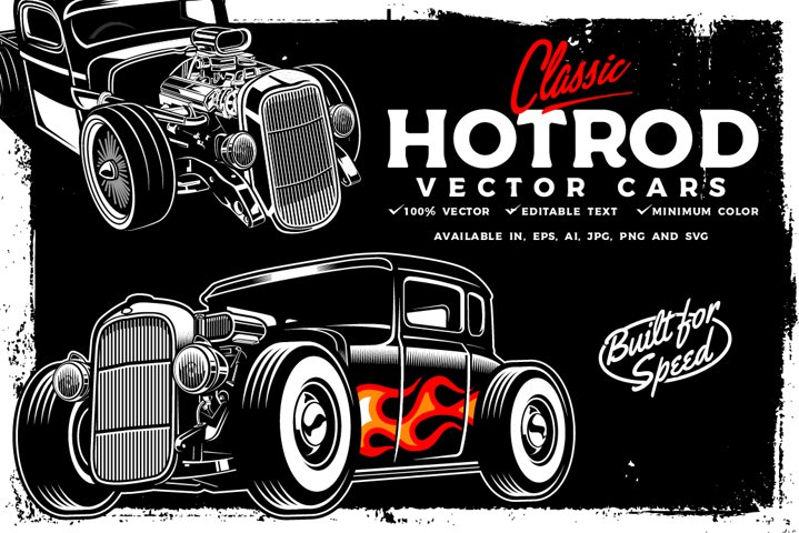 Hotrod Vector cars