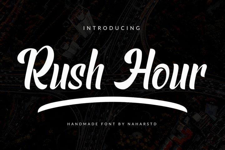 Rush Hour - Modern Sans