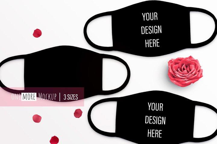 Bachelorette Face Mask Mockup |Mask Mock Up