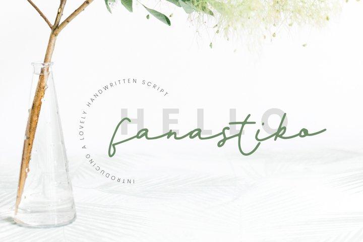 Fanastiko - A Lovely Signature Font