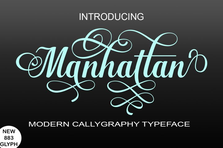 Manhattan - Free Font of The Week Font