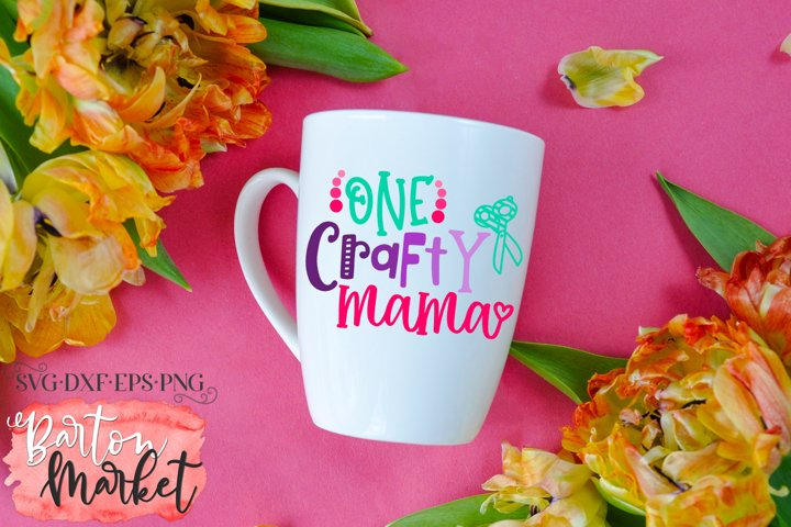 One Crafty Mama SVG DXF EPS PNG example 2