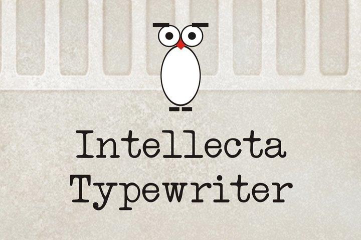 Intellecta Typewriter
