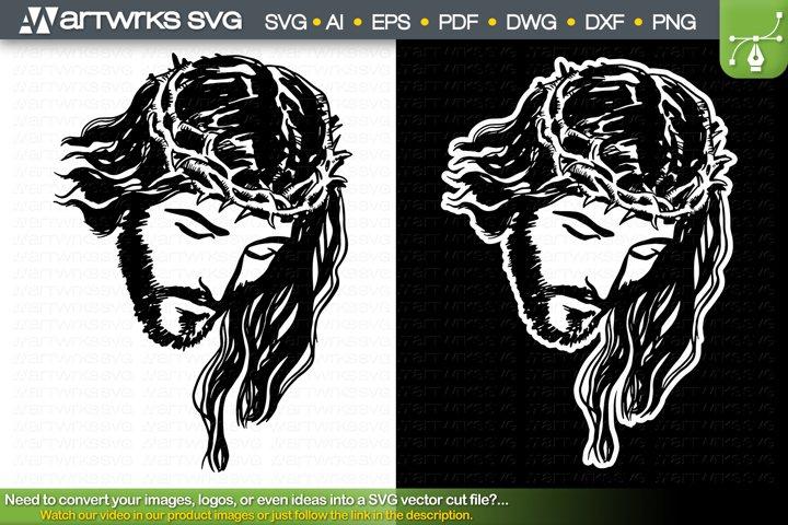 Jesus Christ SVG Christian SVG Religious SVG by Artworks SVG