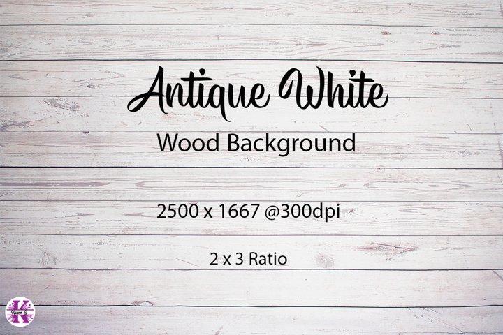 Antique White Wood Backgroiund Jpg
