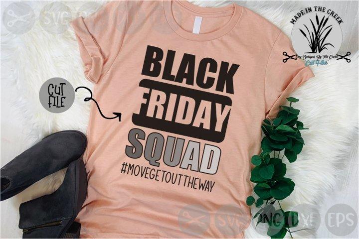 Black Friday Squad, Shopping, Deals, Sales, Cut File, SVG