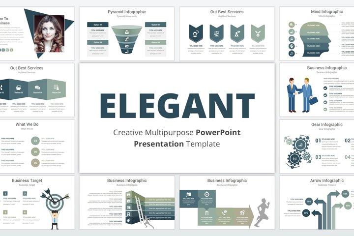 Elegant multipurpose PowerPoint Presentation Template