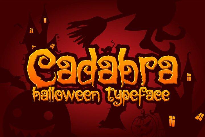 Cadabra | Halloween Typeface
