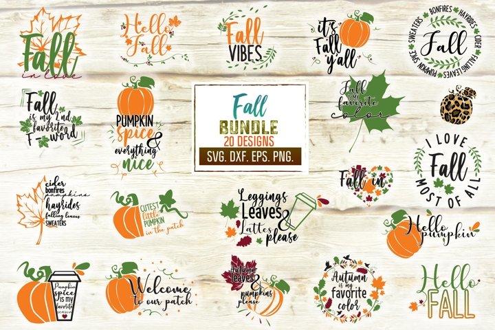 Fall Svg Bundle. Autumn Svg Designs. Fall Svg.