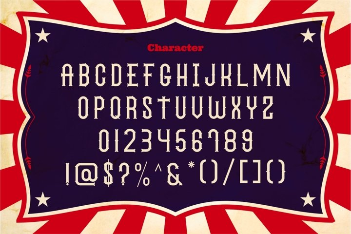 The Circus Show - Free Font Of The Week Design1