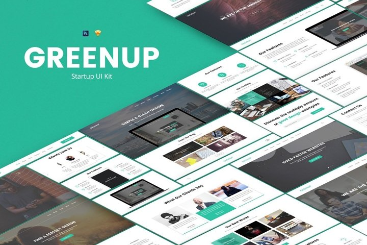 Greenup UI Kit