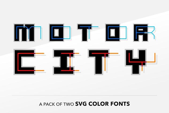 SB Motor - SVG Color Font