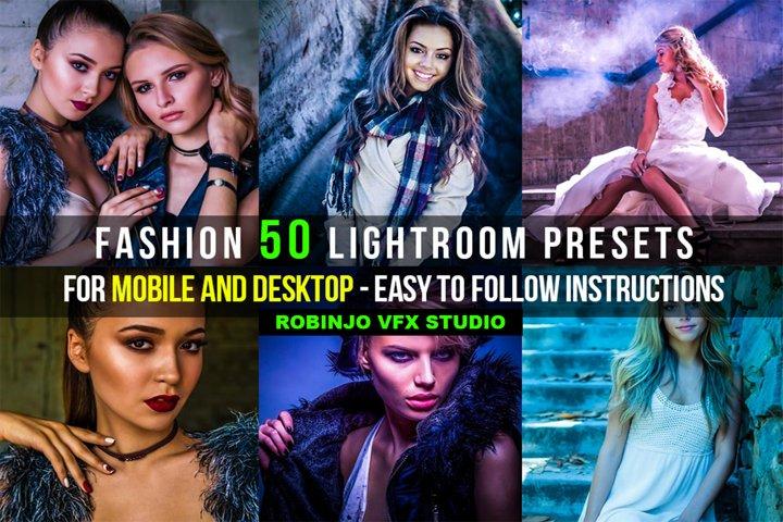 Fashion 50 Lightroom Presets