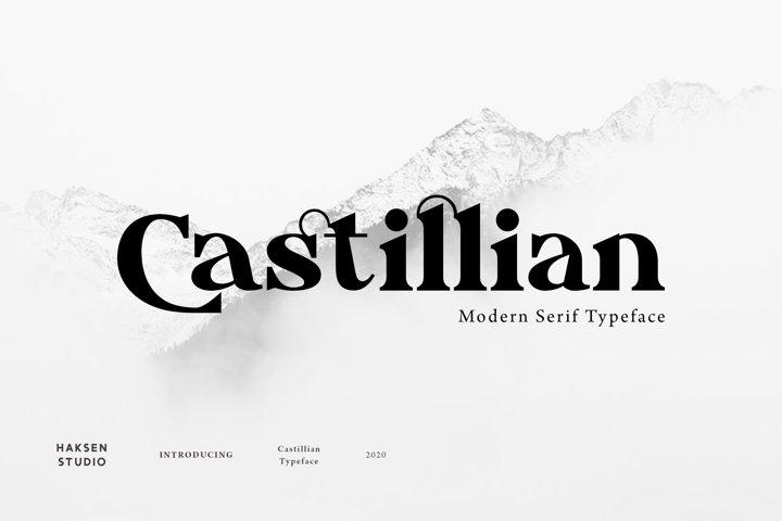 Castillian The Modern Serif Family