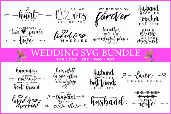 Wedding SVG Bundle Vol.2
