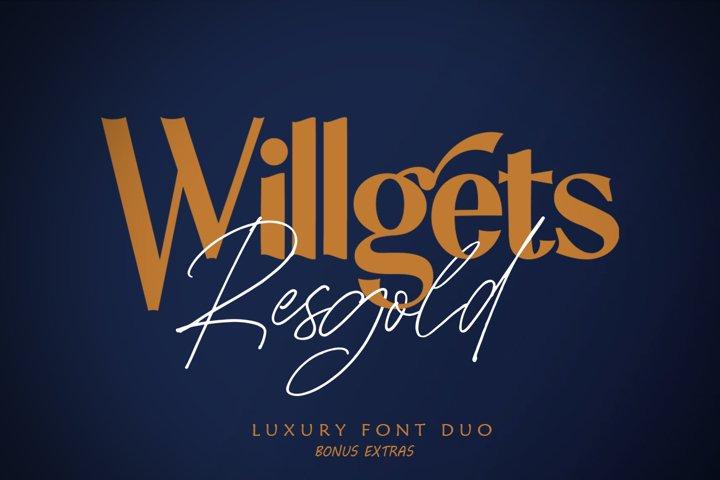Resgold Willgets