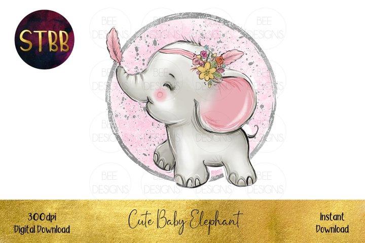 Cute Baby Elephant Image