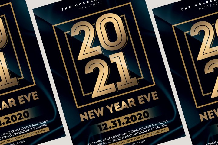 New Year Eve Flyer Template