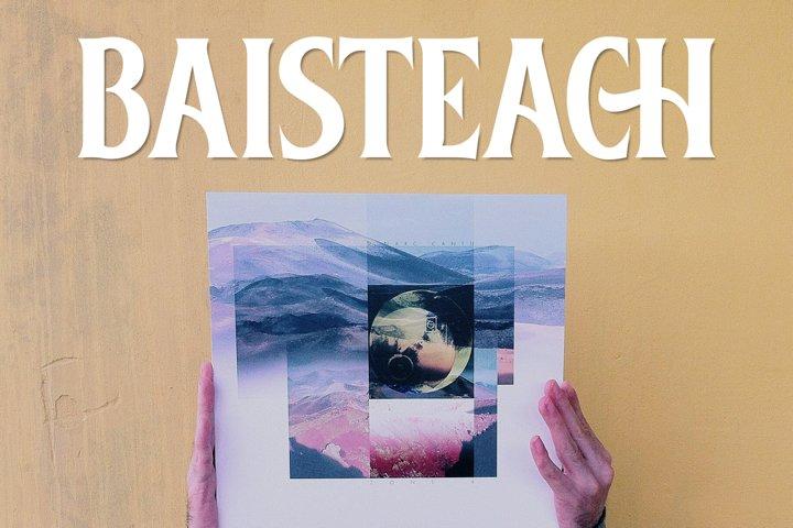 Baisteach | Vintage Serif