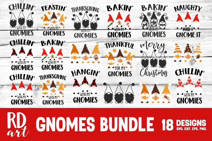 Gnomes Bundle SVG, DXF, PNG, EPS