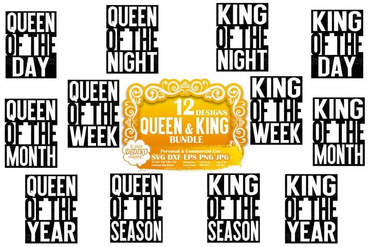 Black Woman SVG Bundle| Black Man SVG | Queen SVG | King SVG