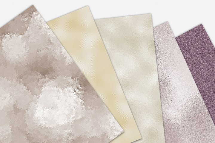Pearl Foil and Glitter Textures - Metallic Backgrounds example 6