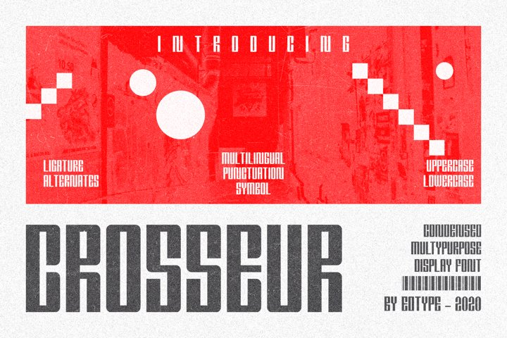 Crosseur Multypurpose Font