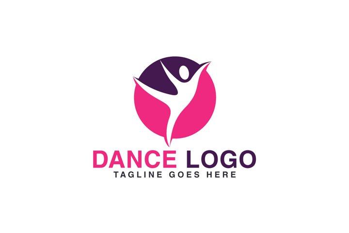 Dance logo design.