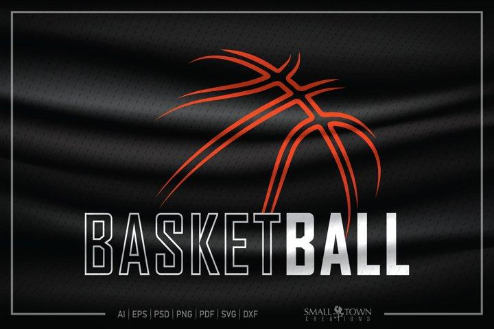 Basketball, Basketball Ball, Sports, PRINT, CUT & DESIGN