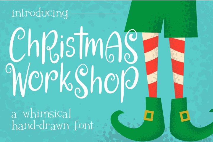 Christmas Workshop Font