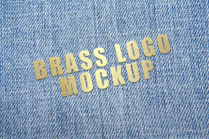 Brass Logo Mockup